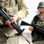 Huge amounts of amphetamine-based drugs seized by Turkish authorities, Turkey-Syrian border