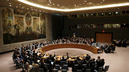 UN security council / Reuters