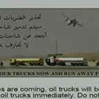 U.S.give Islamic State Oil tankers prior warning 45 minutes before hitting them with air strikes