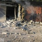 Ukrainian forces hit targets in the western suburbs of Gorlovka