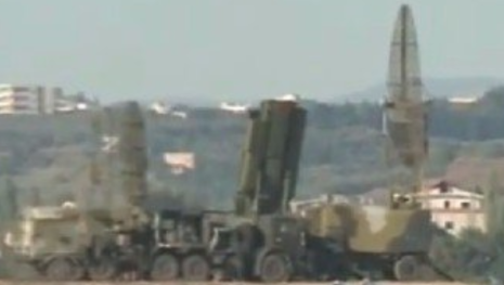 S-400 at the Russian base of Khmeimim