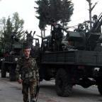 Syrian army advances toward Jordanian border