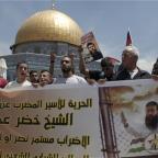 Protests held in Belfast for Palestinian hunger striker