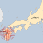 Japan hit by deadly earthquake measuring 6.5 on the Richter scale
