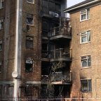 Residential tower block in London evacuated after residents witnessed 'explosions' after a fire spread through the building