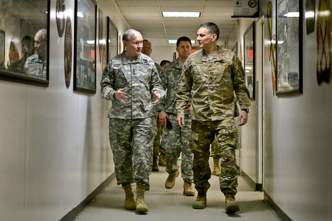 CJCS visits Afghanistan Feb 2014
